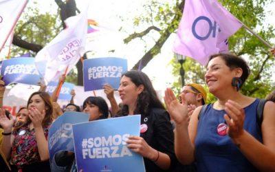 Convergencia Social presenta firmas ante el Servel para constituirse como partido político